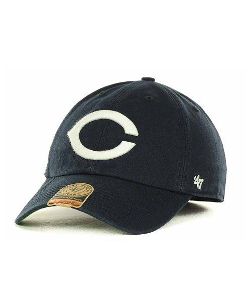 47 Brand Creighton Blue Jays Franchise Cap - Sports Fan Shop By Lids ... 91634dcd1