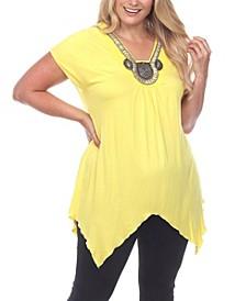 Plus Size Fenella Tunic Top