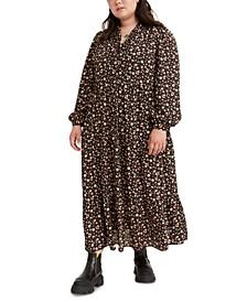 Trendy Plus Size Marisole Floral-Print Maxi Dress