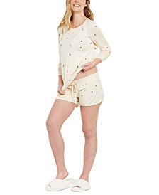Under Belly French Terry Maternity Shorts
