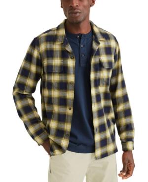 Men's Alpha Plaid Camp Shirt