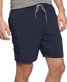 "Men's Naples Happy Go Cargo 6"" Swim Trunks"