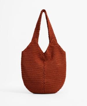 Women's Bucket Crochet Bag