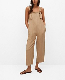 Women's Linen Jumpsuit