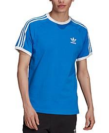 Men's Slim-Fit Originals Three-Stripe Raglan T-Shirt