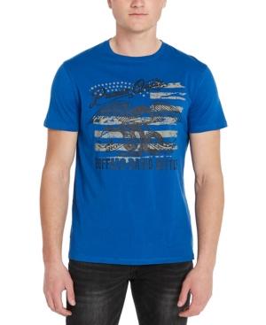 Men's Jersey Flag Print T-shirt