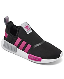 Little Girls NMD 360 Slip-On Casual Sneakers from Finish Line
