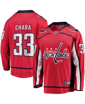 Men's Zdeno Chara Red Washington Capitals Home Premier Breakaway Player Jersey