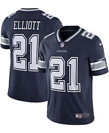 Men's Ezekiel Elliott Navy Dallas Cowboys Vapor Limited Jersey