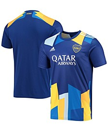 Men's Blue Boca Juniors 2020/21 Third Replica Jersey