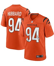 Men's Sam Hubbard Orange Cincinnati Bengals Alternate Game Jersey