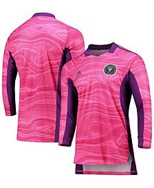 Men's Pink Inter Miami CF 2021 Goalkeeper Long Sleeve Jersey