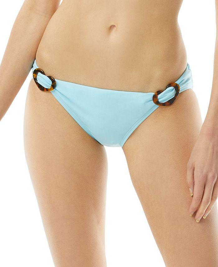 kate spade new york - High-Waist Bikini Bottom