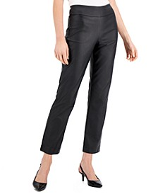Coated Pull-On Pants, Created for Macy's