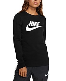 Women's Sportswear Essential Cotton Logo Top