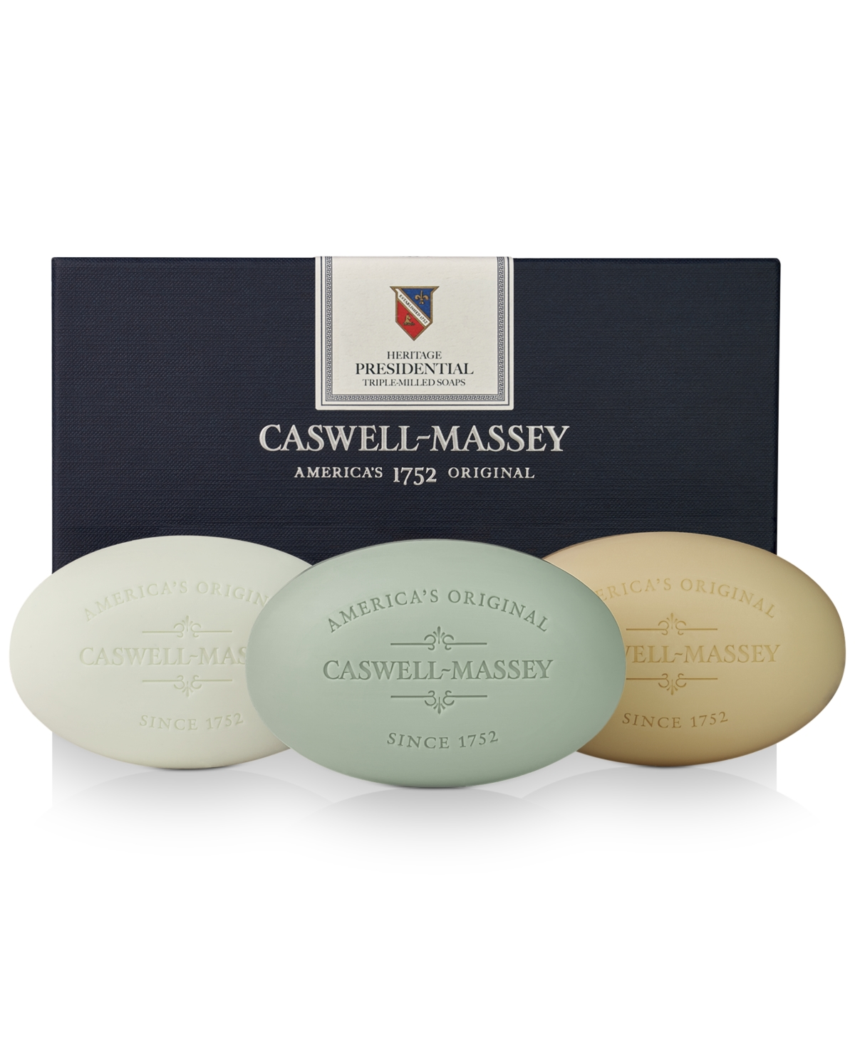 Caswell Massey 3-Pc. Heritage Presidential Bath Soap Gift Set