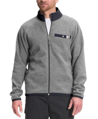 노스페이스 맨 플리스 스웨터 The North Face Mens Gordon Lyons Standard-Fit Full-Zip Fleece Sweater,Tnf Medium Grey Heather