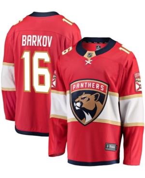 Men's Aleksander Barkov Red Florida Panthers Premier Breakaway Player Jersey