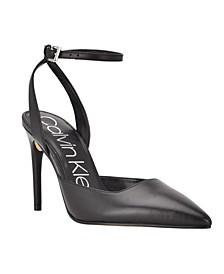 Women's Dona Ankle Strap Pumps