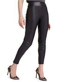 Priscilla Faux-Leather Leggings