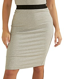 Amy Ribbed Pencil Skirt