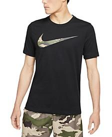 Men's Camo Swoosh T-Shirt