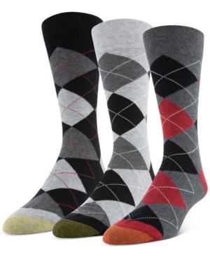 Men's 3-Pack Carlyle Crew Socks