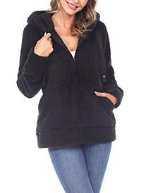 Women's Hooded Sherpa Jacket