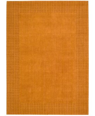 "Home Cottage Grove Coastal Village Terracotta 8' x 10'6"" Area Rug"