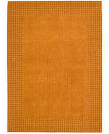 kathy ireland Home Cottage Grove Coastal Village Terracotta Area Rug