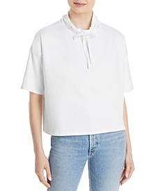 Funnel-Neck Relaxed Top