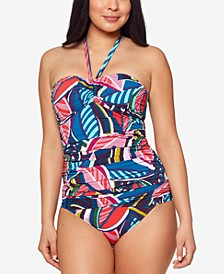 Bleu Rod Beattie Absolutely Fabulous Bandeau Tankini & Absolutely Fabulous Sarong Bikini Bottoms