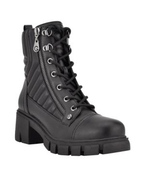 Women's Arisa Lace Up Lug Sole Combat Bootie Women's Shoes