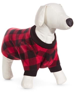 Pet Red Check Pajama