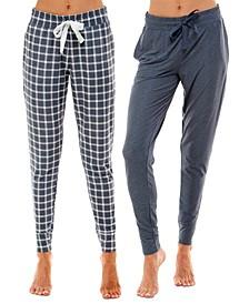 2-Pk. Jogger Pajama Pants