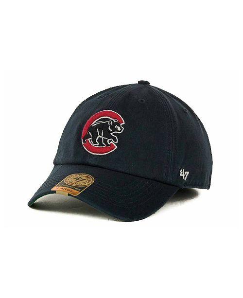 47 Brand Chicago Cubs Franchise Cap - Sports Fan Shop By Lids - Men ... 5f66c423dca