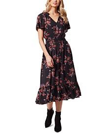 Meadow Printed Ruffled Dress