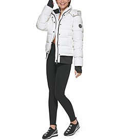 Sport Women's Ribbed Puffer Jacket