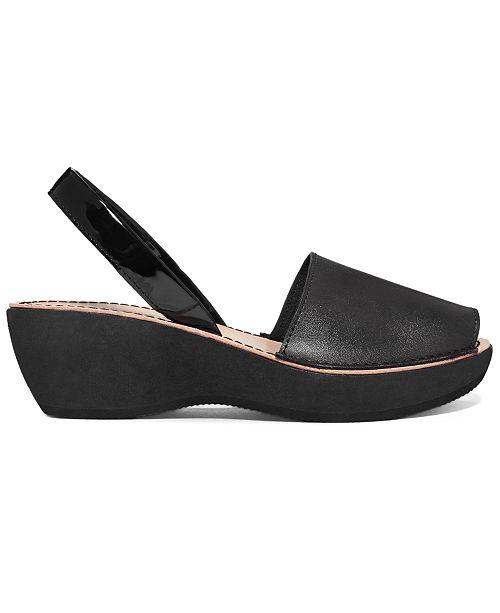 b0ef55fd0e71 ... Kenneth Cole Reaction Women s Fine Glass Platform Wedge Sandals ...