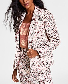 Tweed Blazer, Created for Macy's