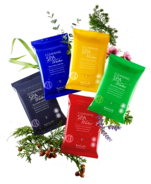 5-Pc. Spa Cleansing Water Cloths Relaxing Aromas Set