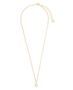 Lane 14K Gold Plated Pendant Necklace