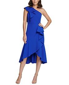 One-Shoulder High-Low Dress