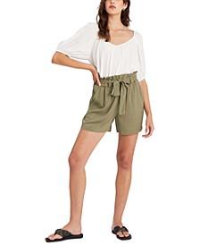 High-Tide Belted Shorts