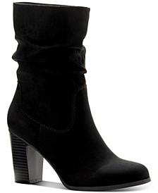 Saraa Slouch Mid-Shaft Boots, Created for Macy's