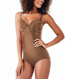 Women's Firm Control Embellished Unlined Shaping Bodysuit1456