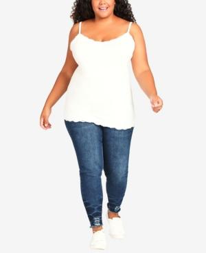 Plus Size Lace Camisole Top
