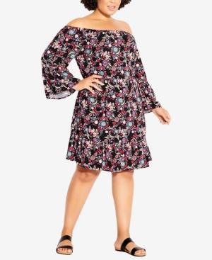 Plus Size Kos Dress