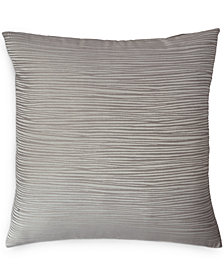 Donna Karan Home Reflection Silver European Sham