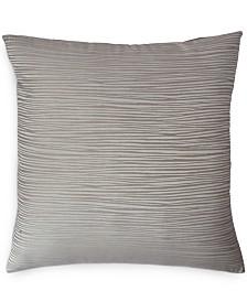 Donna Karan Home Reflection Silver European Sham